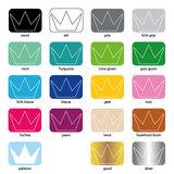muursticker kleuren